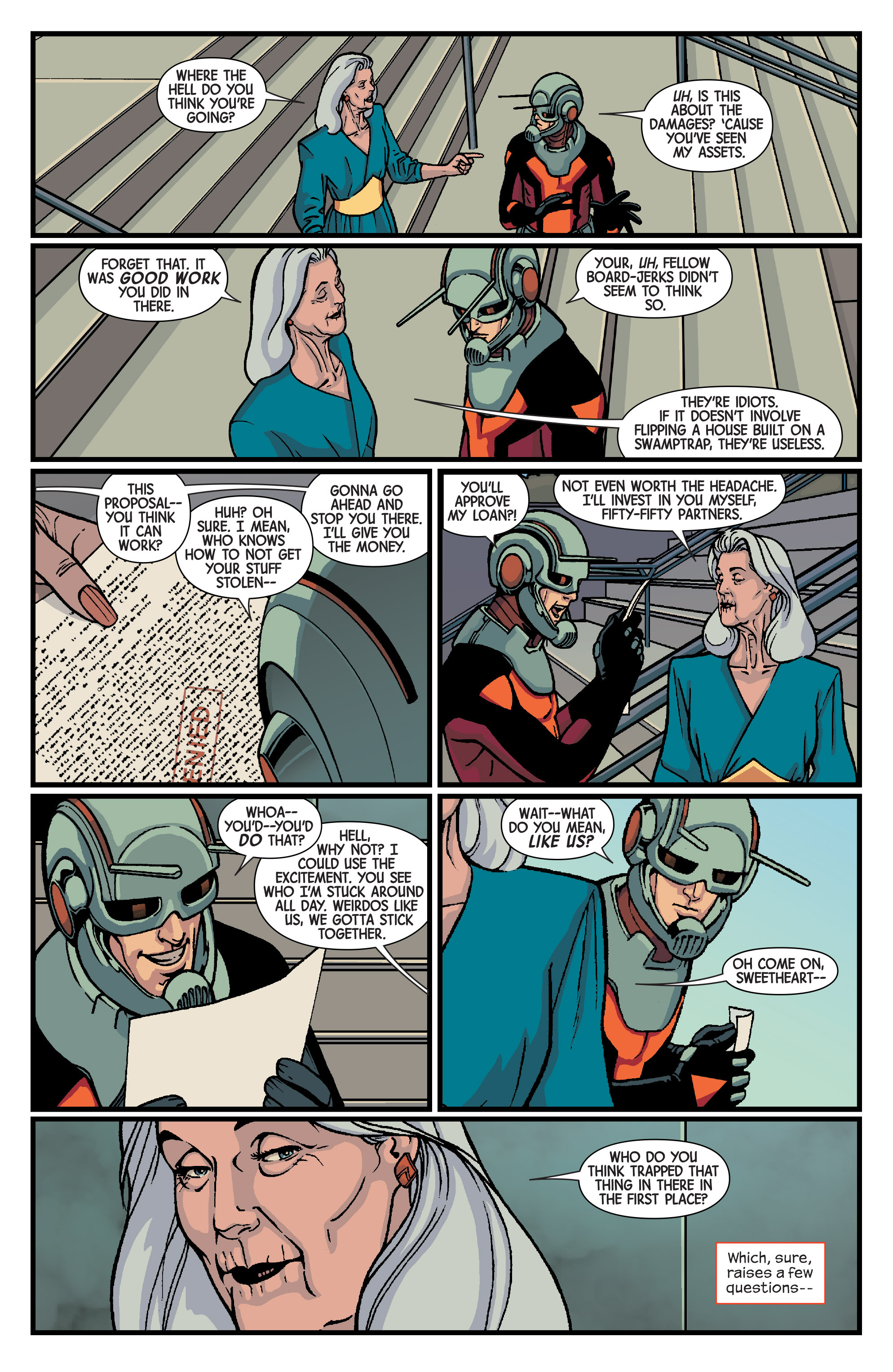 Read online Ant-Man comic -  Issue #2 - 16