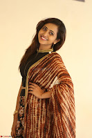 Lasya looks super cute in black choli Saree at Raja Meru Keka Press Meet ~  Exclusive 092.JPG