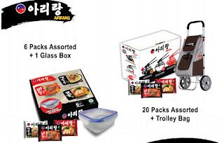 Promo pembelian Mie Arirang