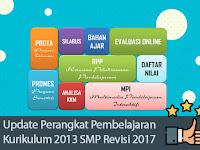 Update Perangkat Pembelajaran Kurikulum 2013 SMP Revisi 2017
