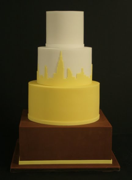 skyline wedding cake joseph cakes nyc skyline 20188