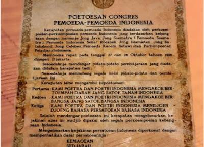 Sumpah Pemuda merupakan salah satu insiden penting dalam usaha kemerdekaan Indones Teks Sumpah Pemuda yang Asli dan Benar (28 Oktober 1928)