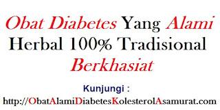 Obat Diabetes yang alami herbal 100% tradisional Berkhasiat