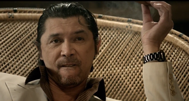 Lou Diamond Phillips in Imagine Dragons - Radioactive.  StrengthFighter.com