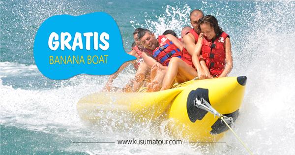 Free Banana Boat Bali