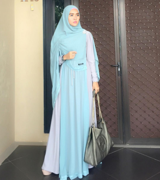 model hijab syar'i dan modis