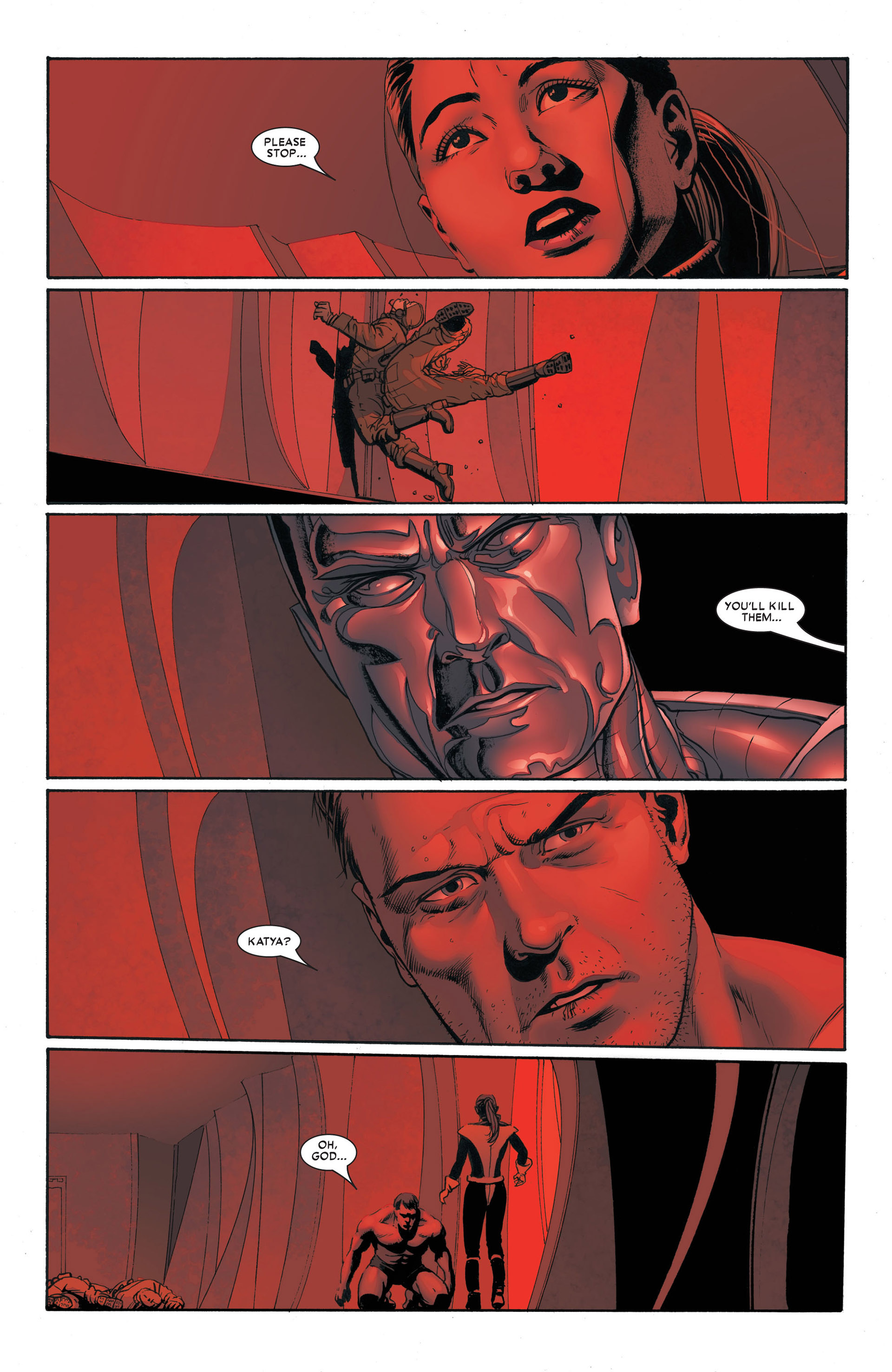 Read online Astonishing X-Men (2004) comic -  Issue #4 - 23