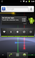 Nexus Android Gingerbread 2.3.4 for HD2