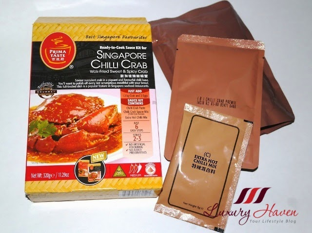 prima taste singapore chilli crab sauce review