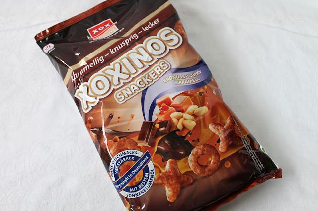 XOX XOXinos Snackers - Erdnuss-Schoki-Karamell