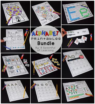 Alphabet Center Activities