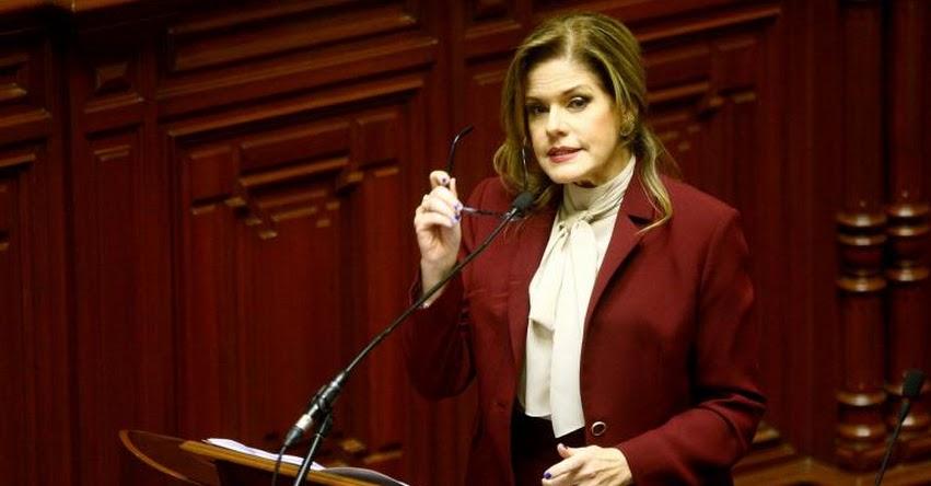 VOTO DE CONFIANZA: Las 20 mejores frases de Mercedes Aráoz en el Congreso de la República