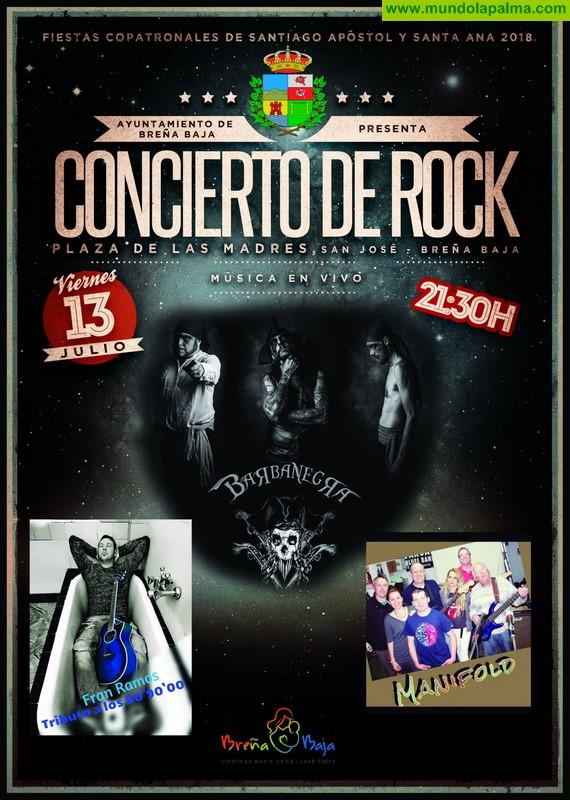 SANTA ANA: Concierto de Rock