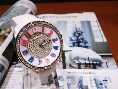 ウォッチ 腕時計 TENDENCE テンデンス ガリバー 12月号 VERY ベリー 優木まおみ クリスマス スワロフスキー プレゼント ブランド ファッション セレクト