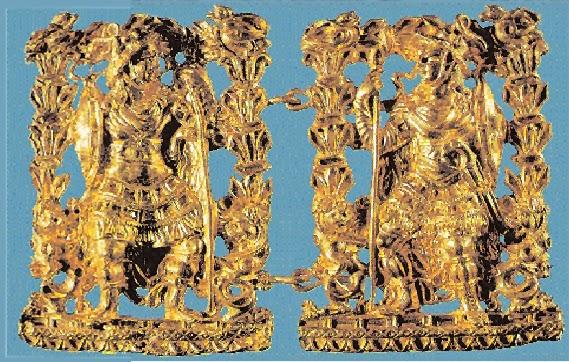 Βασιλικοί τάφοι στην Βακτριανή