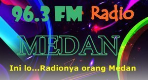 Audio streaming Radio 96.3 Medan FM