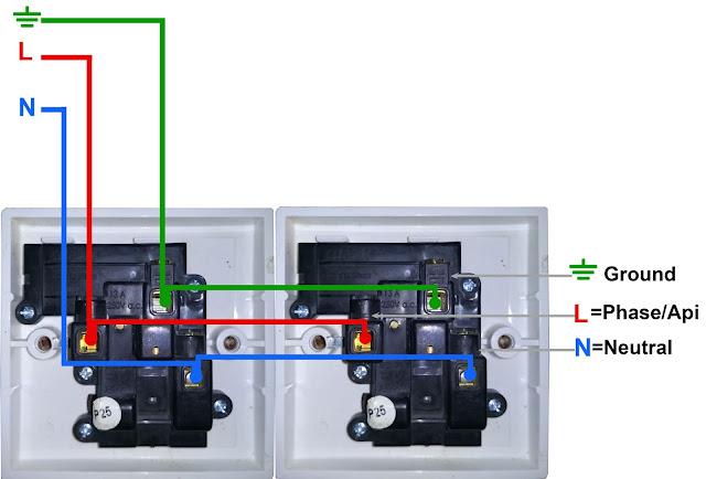 Diagram Paralel Antar Stop Kontak