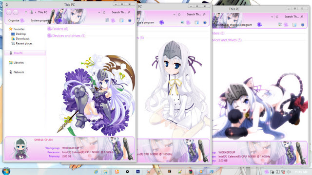 Windows 8.1 Theme Korewa Zombi wa Desuka? by Andrea_37