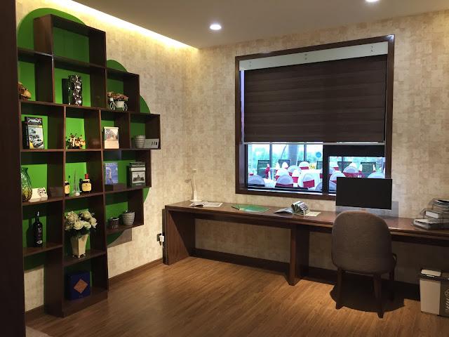 Thiết kế phòng làm việc, sinh hoạt chung của gia đình