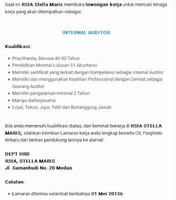 Lowongan Kerja Medan RSIA Stella Maris Mei 2016 | Lowongan ...