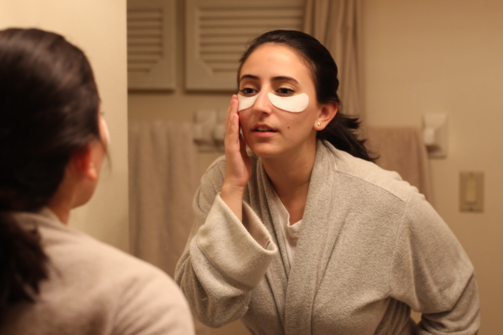 VIIcode O2M Oxygen Eye Mask Review   Blush and Fairy Dust Under Eye Bags, Dark Circles