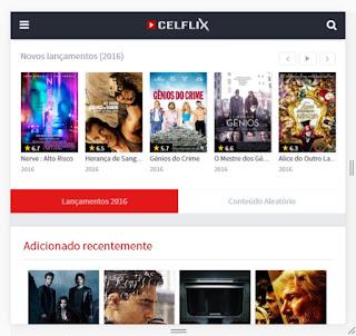 CELFLIX 4.0 - Apk - Flmes e Séries Online