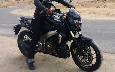 Bajaj Dominar 400 Black look