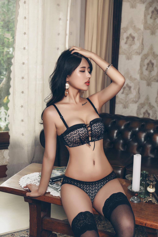 Korean Model Lael in Lingerie Set August 2017 Lingerie Lael Korean Pictures Korea Fashion 2017