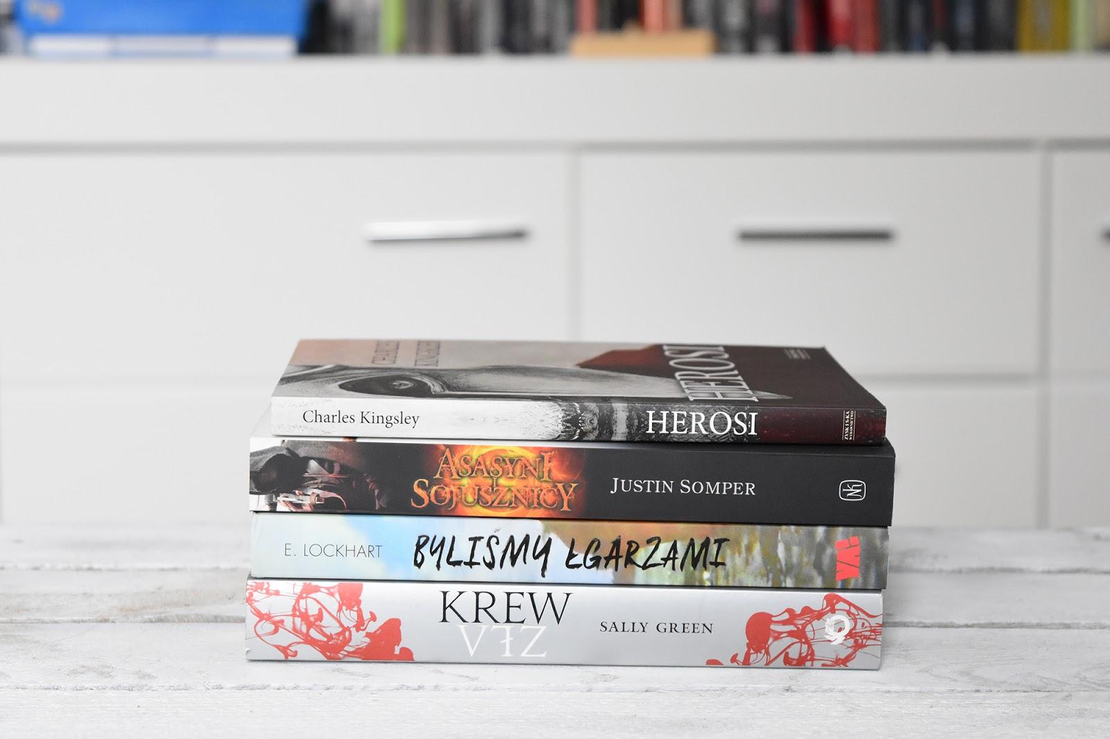książki, tanie czytanie, tanie książki, tak czytam, Mróz, Stephen King, Byliśmy Łgarzami, Zła krew, bookstagram, nowe książki