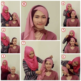 Model Hijab Untuk Kebaya Wisuda