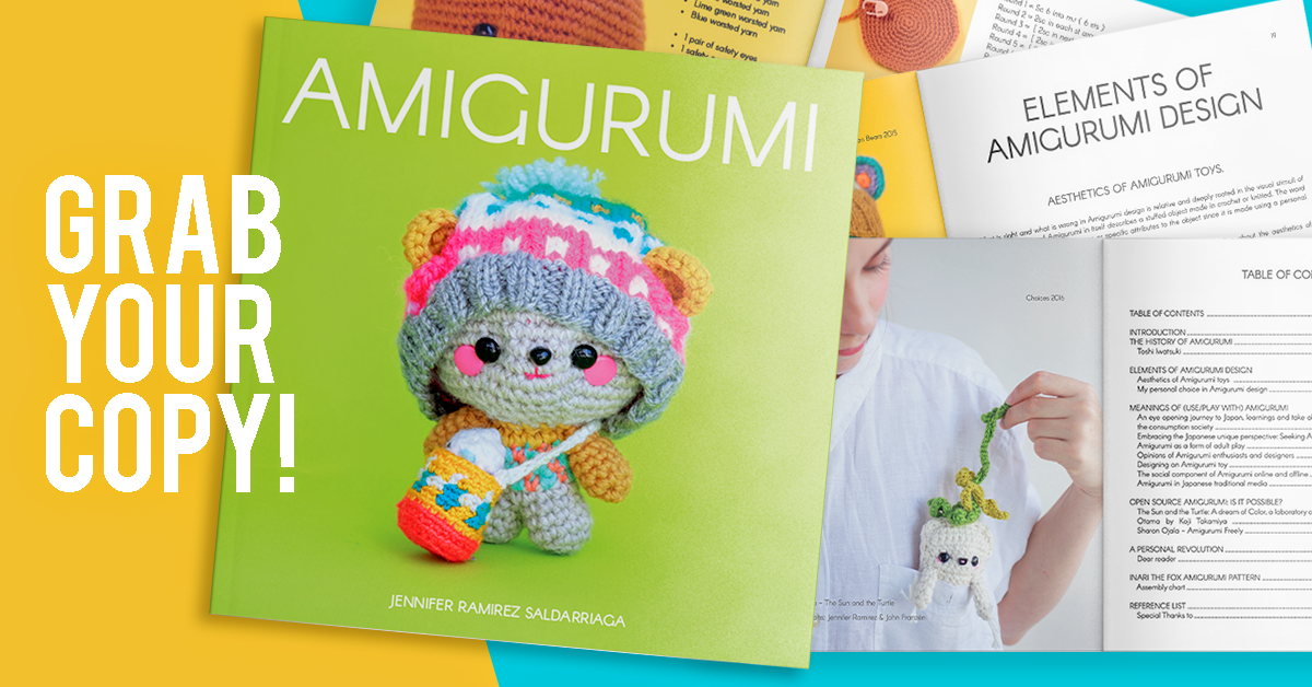 Amigurumi the book by Jennifer Ramirez Saldarriaga. The most complete research on Amigurumi so far.