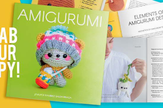 Amigurumi the book is an exploration into the world of Amigurumi and the most complete research of the history of Amigurumi so far. Including an awesome Fox Amigurumi pattern!