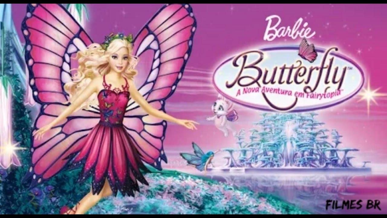 barbie butterfly dublado avi
