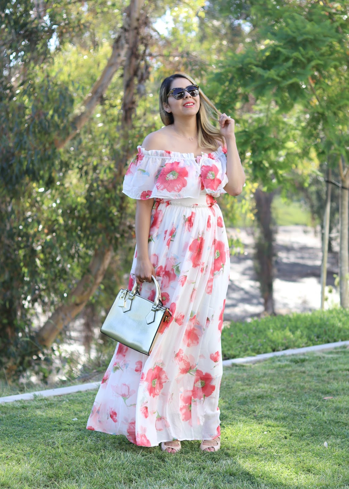Summer maxi dress, flowy maxi dress, summer fashion, what to wear to a wedding