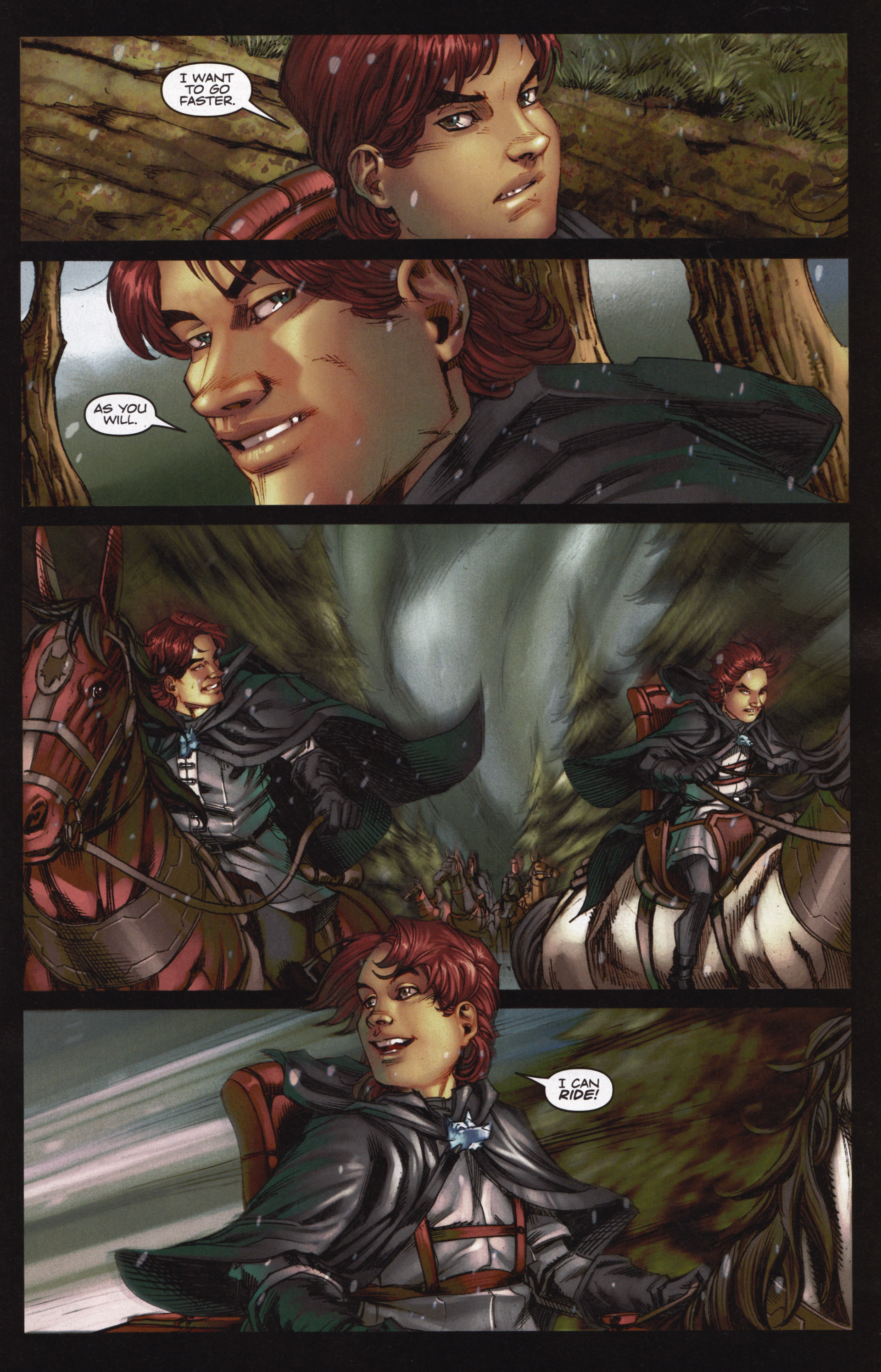 Read online A Game Of Thrones comic -  Issue #12 - 5