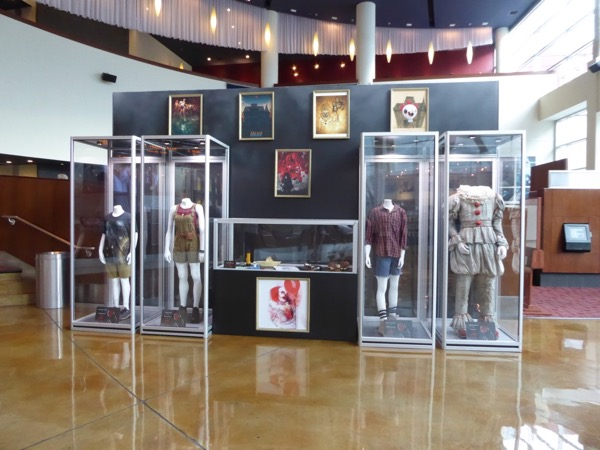 IT movie costume prop exhibit