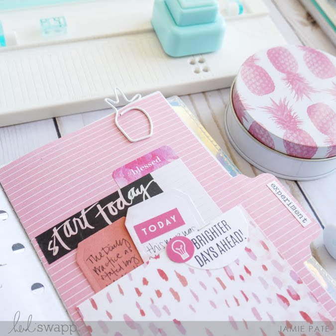 Reasons for a Traveler's Journal from the Fresh Start Heidi Swapp Collection by Jamie Pate  | @jamiepate for @heidiswapp