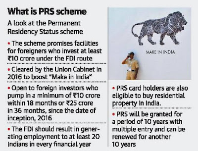 Permanent Residency Status (PRS) Scheme