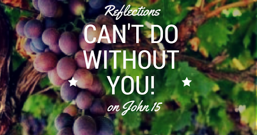 Can't Do Without You | Reflections on John 15 | Part 2