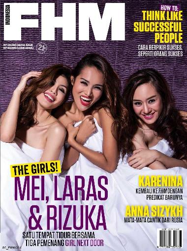 Download Majalah FHM Indonesia Maret 2016 Finalis GIRL NEXT DOOR : Mei, Laras & Rizuka | www.zone.downloadmajalah.com