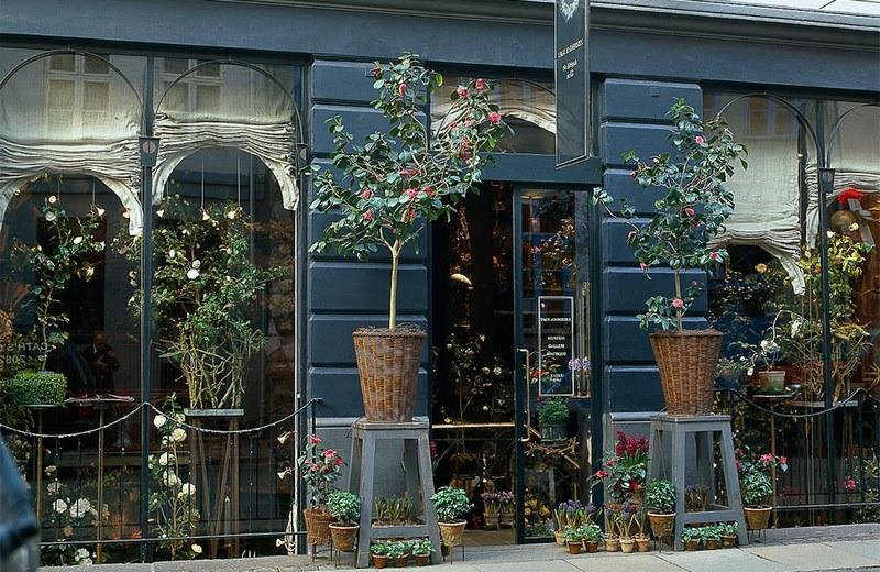 Tage Andersen, Boutique Copenhague