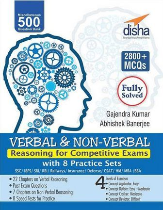 Verbal and non-verbal Reasoning by Disha