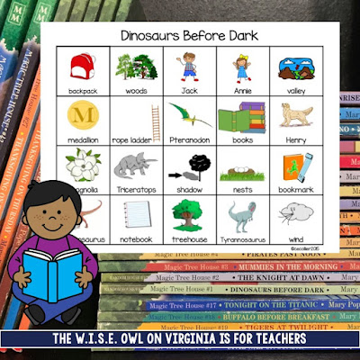 Don't shy away from chapter books just because you teach Kindergarten. Chapter Books are a great springboard for vocabulary and skills.