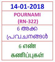 14-01-2018 6 NOS PredictionsPOURNAMI (RN-322)
