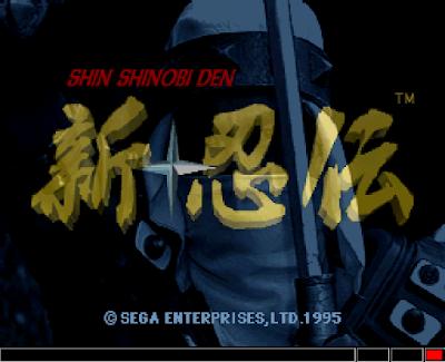 【SS】新忍傳(Shinobi Region)+密技,忍術主題ACT動作過關遊戲!