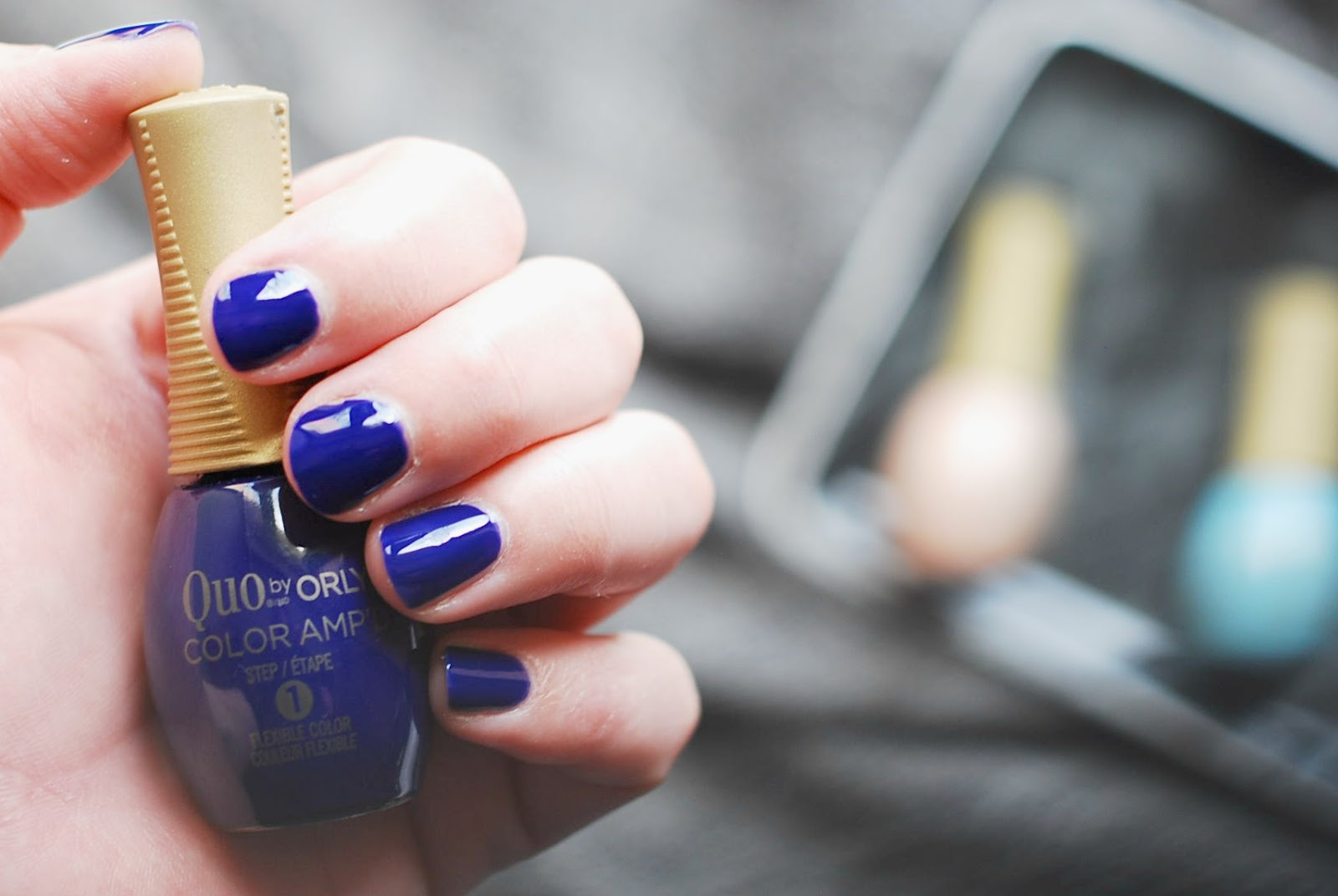 Quo by Orly Color Amp'd nail polish review blog Canada Stadium Way