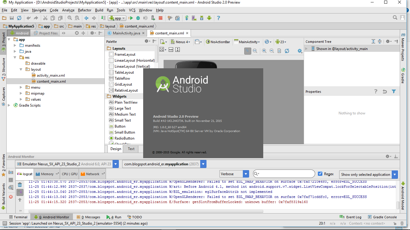 Android-er: Download and run Android Studio 2.0 Preview on ...