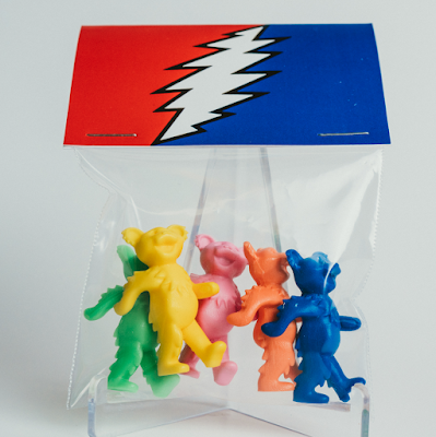 Grateful Dead Dancing Bears Keshi Mini Figures by Killer Bootlegs