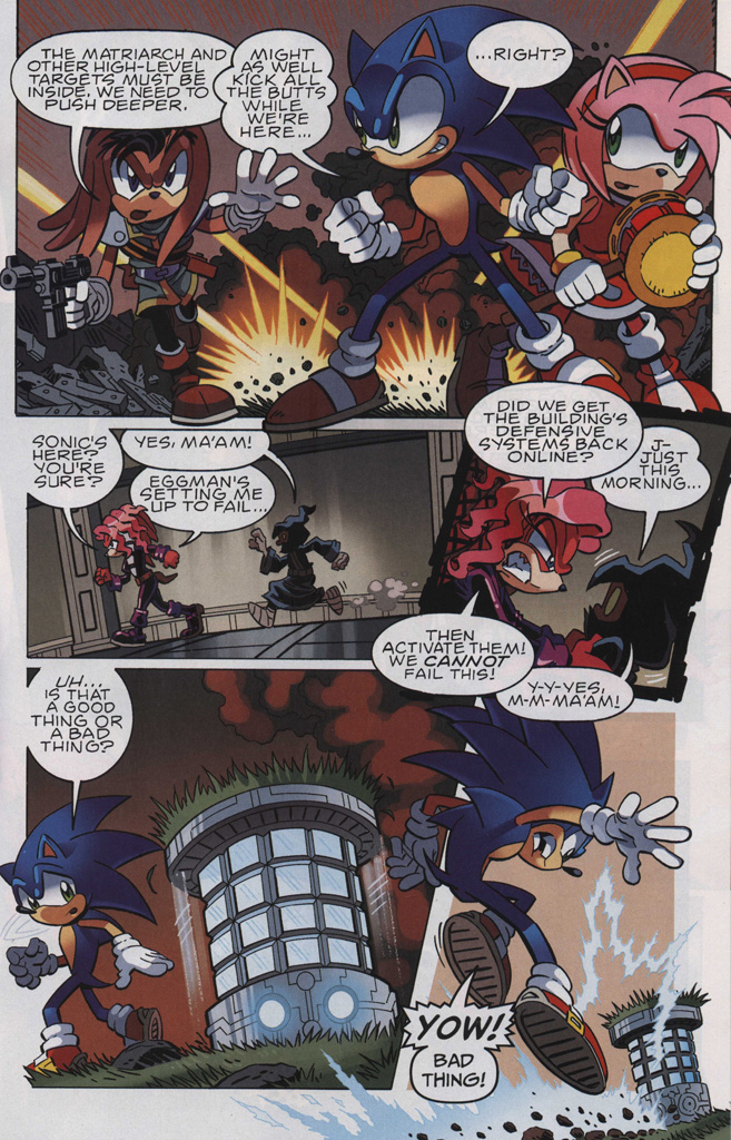 Read online Sonic The Hedgehog comic -  Issue #243 - 27