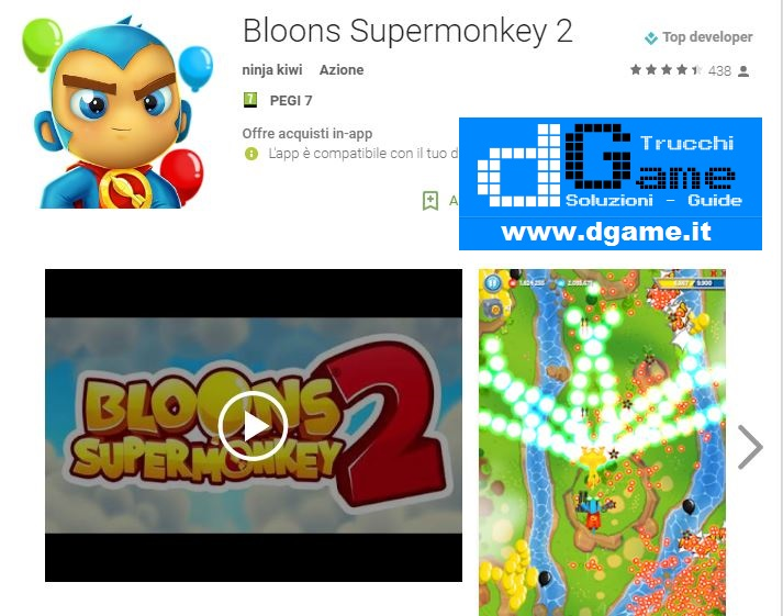 Trucchi  Bloons Supermonkey 2 Mod Apk Android v1.0.2